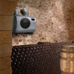 Фото интегрируемый кондиционер для винного погреба