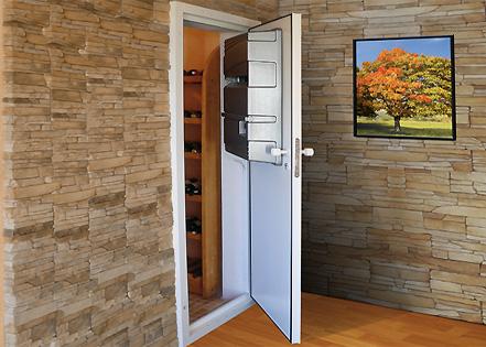 Кондиционер для винного хранилища встроенный в дверь